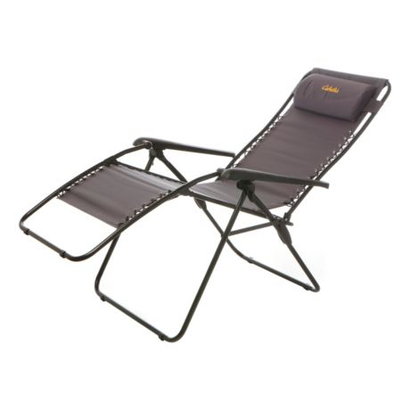 Cabela's Standard Zero Gravity Lounger - Fully Reclined View