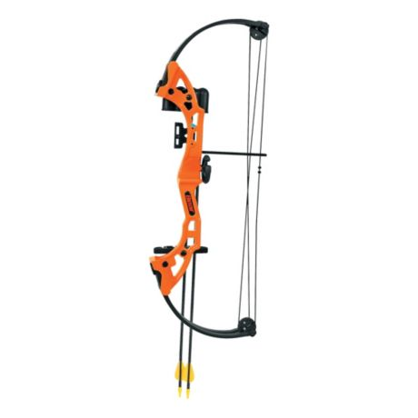 Bear® Archery Brave Compound-Bow Package - Flo Orange