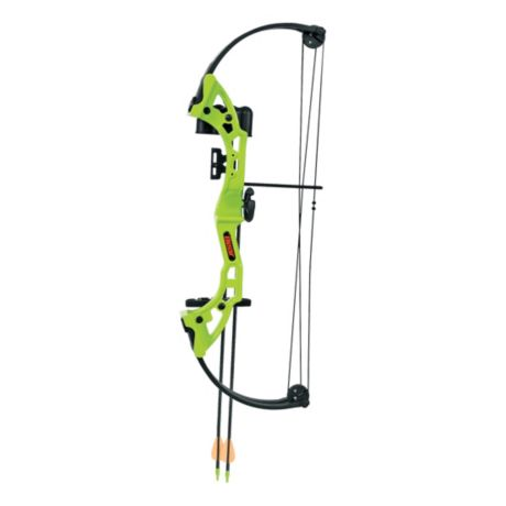 Bear® Archery Brave Compound-Bow Package - Flo Green