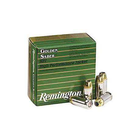 Remington Golden Saber 9mm Handgun Ammo