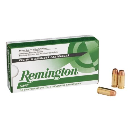 Remington UMC Pistol Ammunition - 50 Round Box