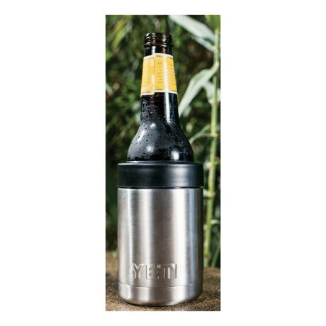 YETI® Rambler Colster - Silver - With 12-oz. Bottle