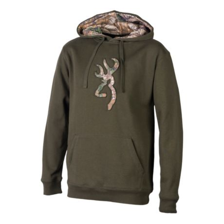 Browning® Buckmark Camo Hoodie - Forest Night/Realtree XTRA