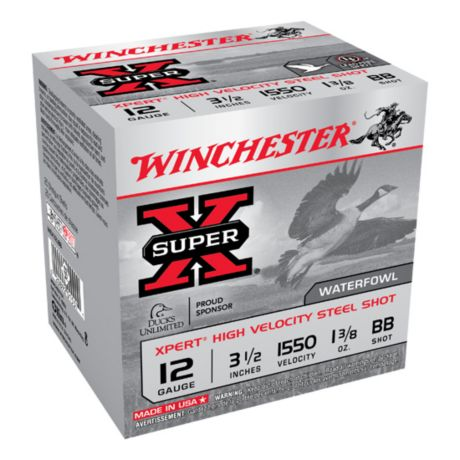 Winchester XPert Hi-Velocity Steel Waterfowl Shotshells - 12 Gauge