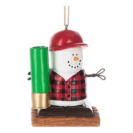 Midwest S'mores Hunting Ornament
