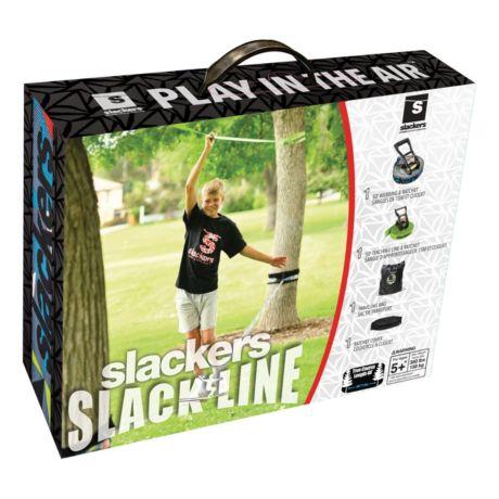Slackers 50-ft. Slackline Set