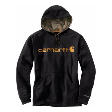 Carhartt® Force Extremes™ Signature Graphic Hoodie - Black
