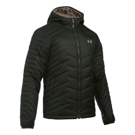 6e0a31658 Mouse over image for a closer look. Under Armour® ColdGear® Reactor Hooded  Jacket ...