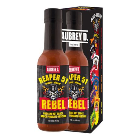 Aubrey D. Rebel Reaper 51 Hot Sauce