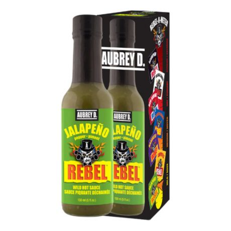 Aubrey D. Rebel Jalapeño Hot Sauce