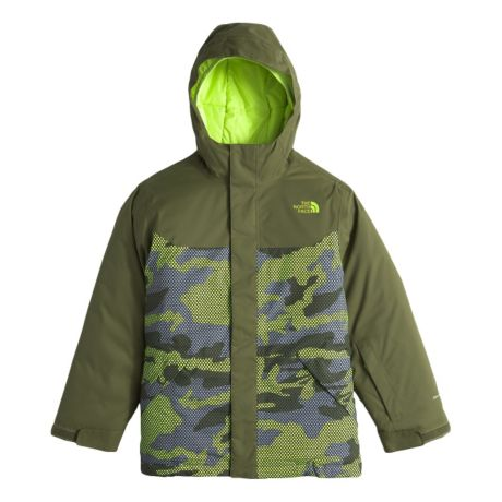 3b5b68e5ad936 The North Face® Boys' Brayden Insulated Jacket - Terrarium Green. Use + and  - keys to zoom in and out, arrow keys move the zoomed portion of the image