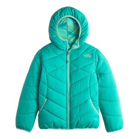 4f00750ba4db The North Face® Girls  Reversible Perrito Jacket - Ion Blue. Use + and -  keys to zoom in and out