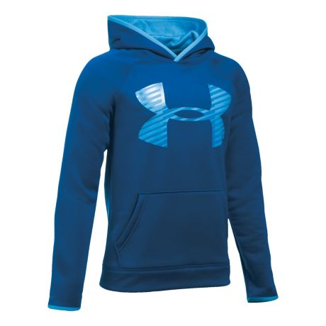 ca259521c8bc Under Armour® Boys  Fleece Storm1 Highlight Hoodie - Caspian Brilliant Blue.  Use + and - keys to zoom in and out