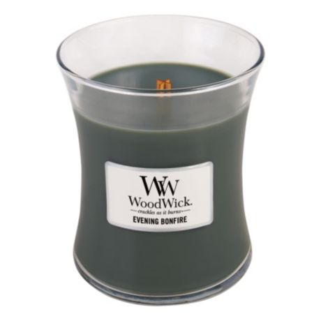 WoodWick® Hourglass Medium 10 oz. Candles - Evening Bonfire