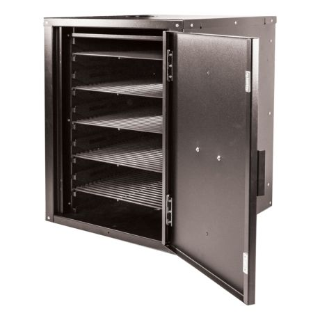 Louisiana Grills Smoke Cabinet - Open View