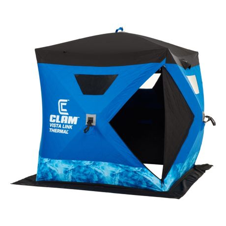 Clam 174 Vista Link Thermal Ice Shelter Cabela S Canada