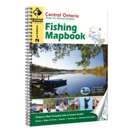 Backroad Mapbooks - Central Ontario Fishing Mapbook