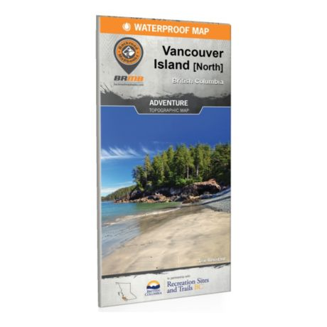Backroad Mapbooks - North Vancouver Island BC Waterproof map