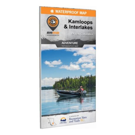 Backroad Mapbooks - Kamloops and Interlakes BC Waterproof Map