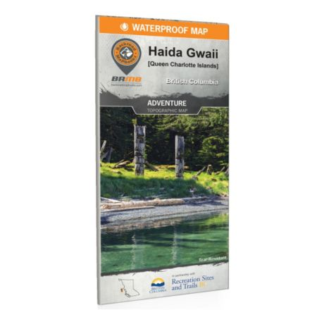 Backroad Mapbooks - Haida Gwaii (Queen Charlotte Islands) BC Waterproof Map