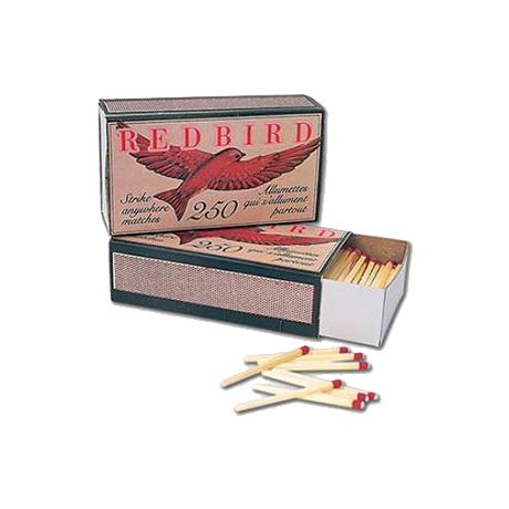 Redbird® Strike Anywhere Matches