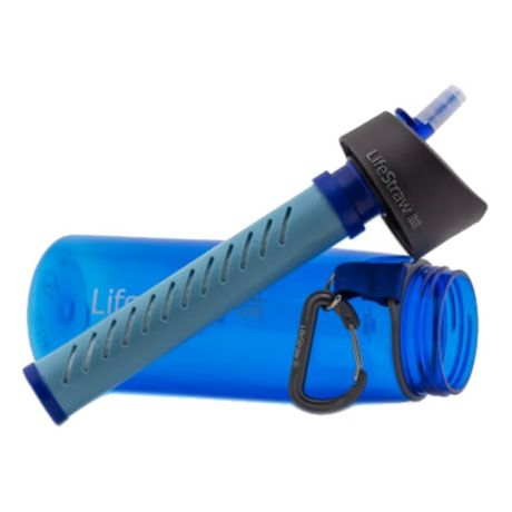 Lifestraw® Go 2 Stage Water Filter with Bottle - Blue