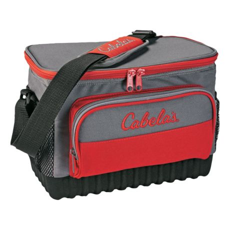 Cabela's 12-Can Soft Sided Cooler - Red
