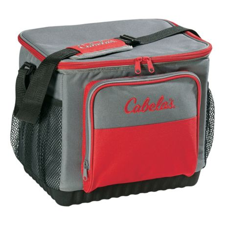 Cabela's Soft-Sided 30-Can Cooler - Red