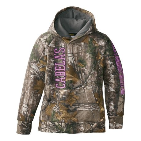 Cabela's Girls' Opening Day Hoodie - Realtree XTRA®