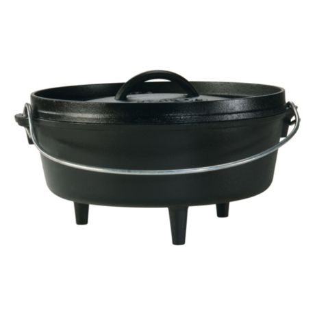 Lodge® Cast Iron 4 Quart Camp Dutch Oven