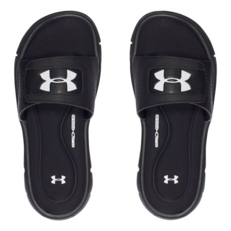 4cd21c7c10ab Mouse over image for a closer look. Under Armour® Boys  Ignite V Slide  Sandals ...