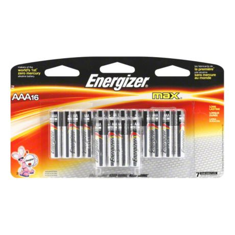 Energizer® Max™ AAA Alkaline Batteries - 16 Pack