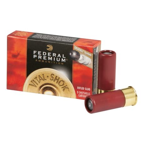 Federal TRUBALL Rifled Slugs - 12 Gauge