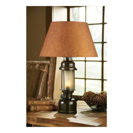 Lodge™ Large Table Lamp Grand River Cabela's Lantern rBedCxo