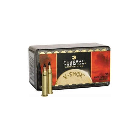 Federal V-Shok .17 Rimfire Ammunition