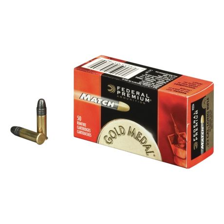 Federal Match .22 LR Solid Rimfire Ammunition