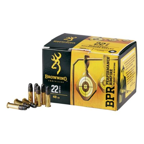 Browning® BPR Performance Rimfire Ammunition