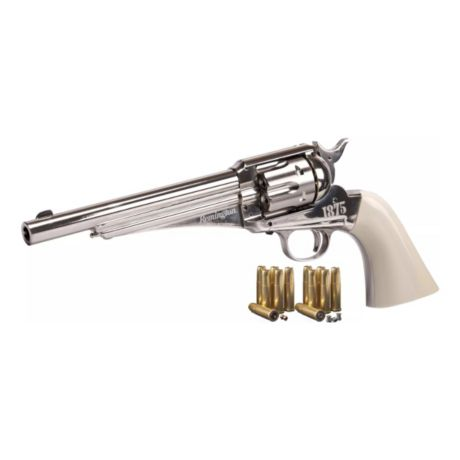Remington® 1875 C02 Powered BB/Pellet Revolver