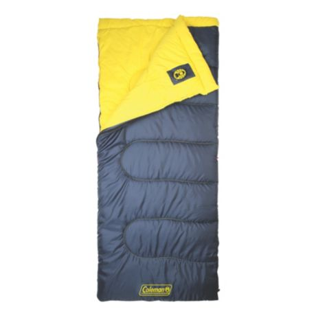 Coleman Palmetto 2 Lbs Sleeping Bag Top View Open