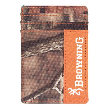 Browning® Front Pocket Camo Field Wallet