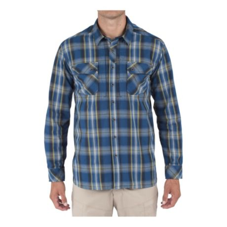 5.11® Tactical Endeavour Long-Sleeve Flannel Shirt - Valiant