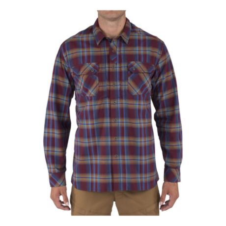 5.11® Tactical Endeavour Long-Sleeve Flannel Shirt - Fig