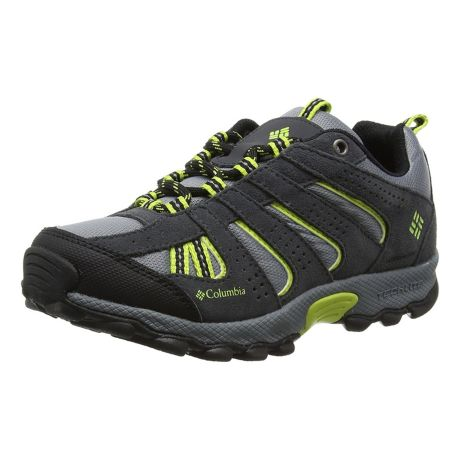 Columbia™ Youth North Plains Waterproof Hiker - Grey Ash/Voltage