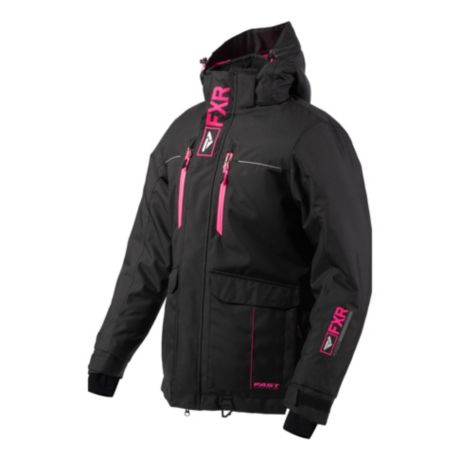 FXR Women's Excursion Jacket - Black/Electric Pink