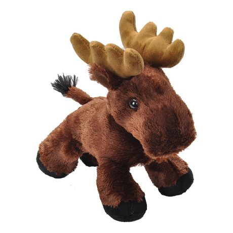 Wild® Republic Hug'ems Stuffed Animals - Moose