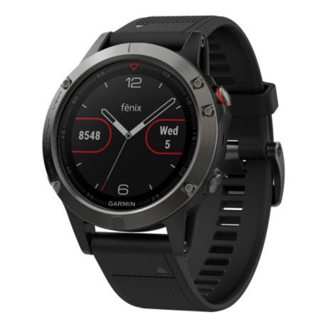 Garmin® fēnix® 5 GPS Watch - Slate/Black