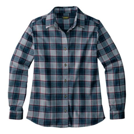 cabela s women s super soft flannel shirt cabela 39 s canada
