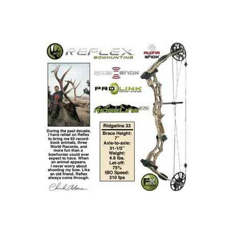 Reflex Ridgeline Compound Bow