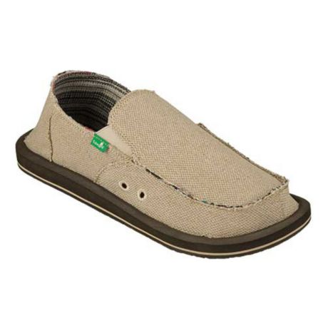 Sanuk Hemp Shoe - Natural