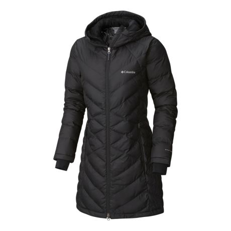 Columbia™ Women's Heavenly™ Long Hooded Jacket - Black